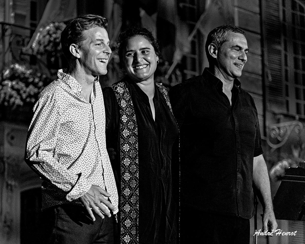 [PARFUM DE JAZZ 2021]   le vendredi 20 août à Saint-Paul-Trois-Châteaux - Naïssam Jalal Trio