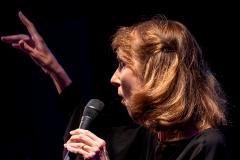 Myra-Mel[PARFUM DE JAZZ]  Le mercredi 12  aout à Buis-les-Baronnies 2ème concert Joëlle Léandre  trio - Lauren Newton