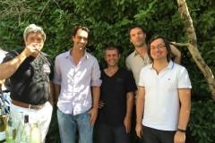 Le-maire-de-B-les-B-S.-Bernard-avec-le-Magnetic-Orchestra-dans-les-jardins-de-la-mairie-de-Buis