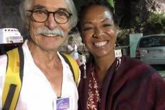 Yves Rivier avec Lisa Simone en 2018