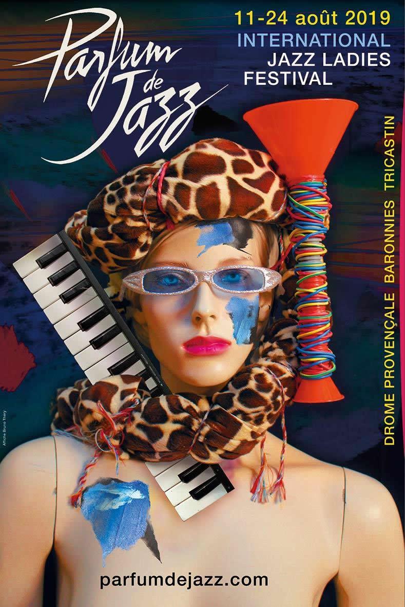 Affiche Parfum de Jazz 2019, réalisée par Bruno Théry